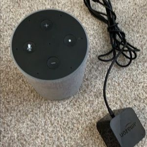 Amazon Alexa , 2nd Gen. like new. Charcoal color.